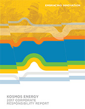Kosmos 2017 Corporate Responsibility Reports