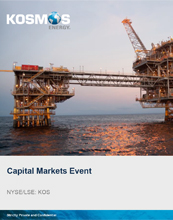 Kosmos Capital Markets Day Presentation